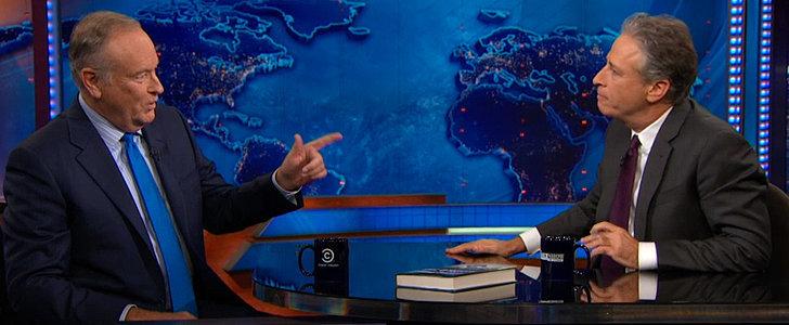 Watch Bill O'Reilly and Jon Stewart Clash Over White Privilege