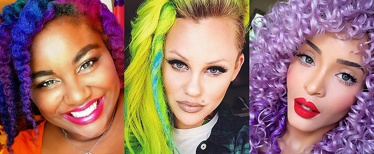 58 Real Girls Who Prove Rainbow Hair Isn't Just For Unicorns