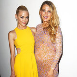 Blake Lively Pregnancy Style Jaime King Golden Heart Awards