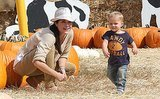 Spotted: Celebrities and Babies at Mr. Bones Pumpkin Patch