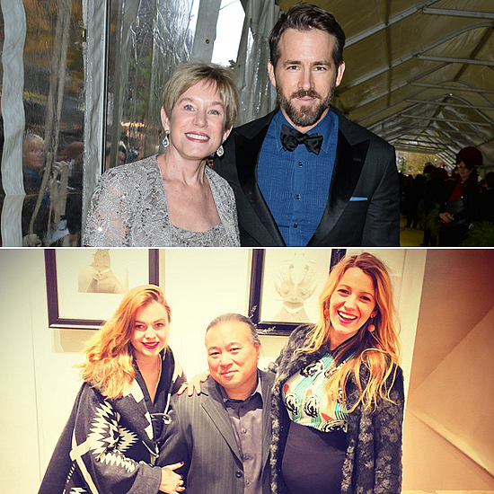 Ryan Reynolds in Toronto and Blake Lively in NYC | Pictures