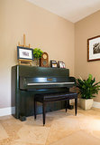 Room of the Day: Addressing the Green Piano in the Room (10 photos)