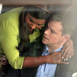 Mindy Kaling Filming With Matt Damon | Photos
