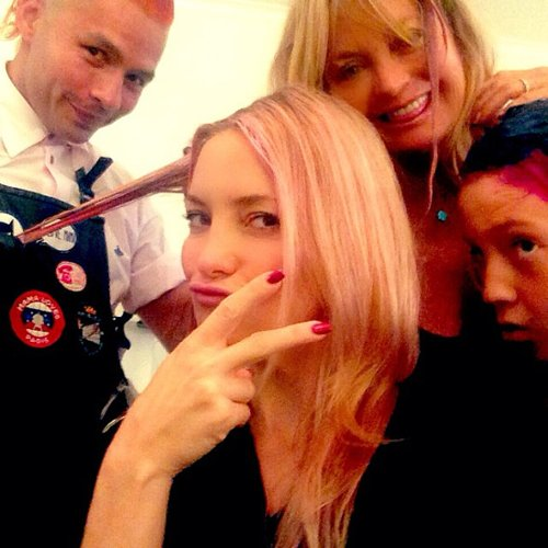 Celebrities With Rainbow Hair