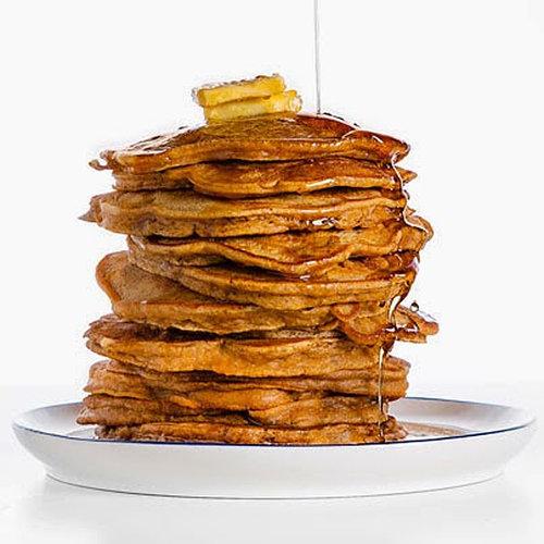 Pumpkin Pecan Pancakes Recipe | POPSUGAR Food