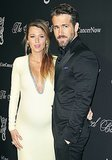 Blake Lively is pregnant for Ryan Reynolds at the Angel Ball in New York