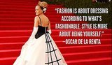 9 of Oscar de la Renta's Most Iconic Looks