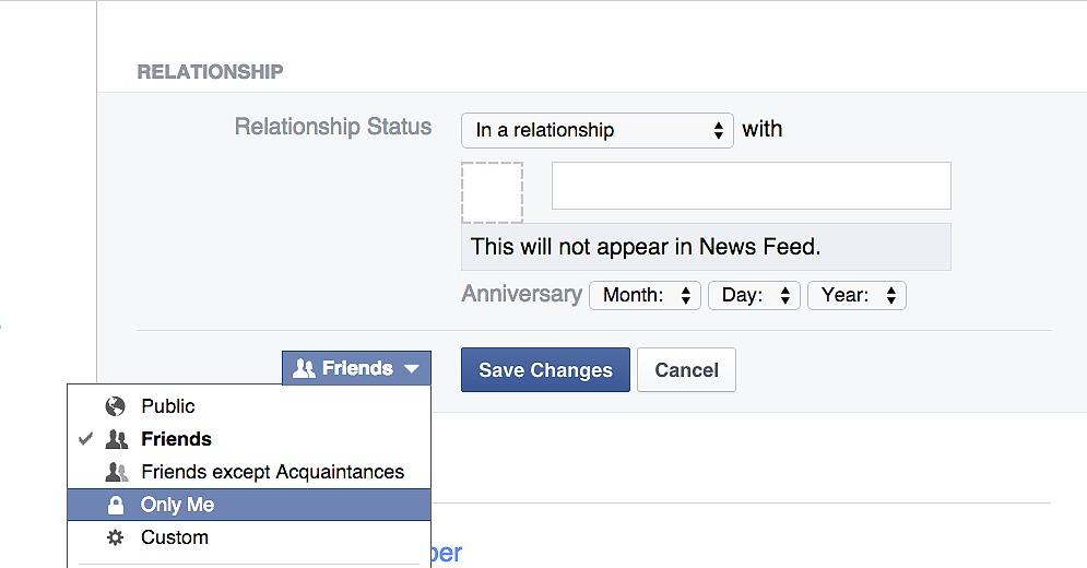 Change Your Facebook Relationship Status | 10 Facebook Hacks You ...