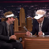 Bradley Cooper and Jimmy Fallon Laughing on The Tonight Show