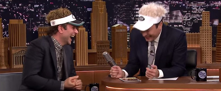 Bradley Cooper and Jimmy Fallon's Late-Night Laughing Fit Is Contagious