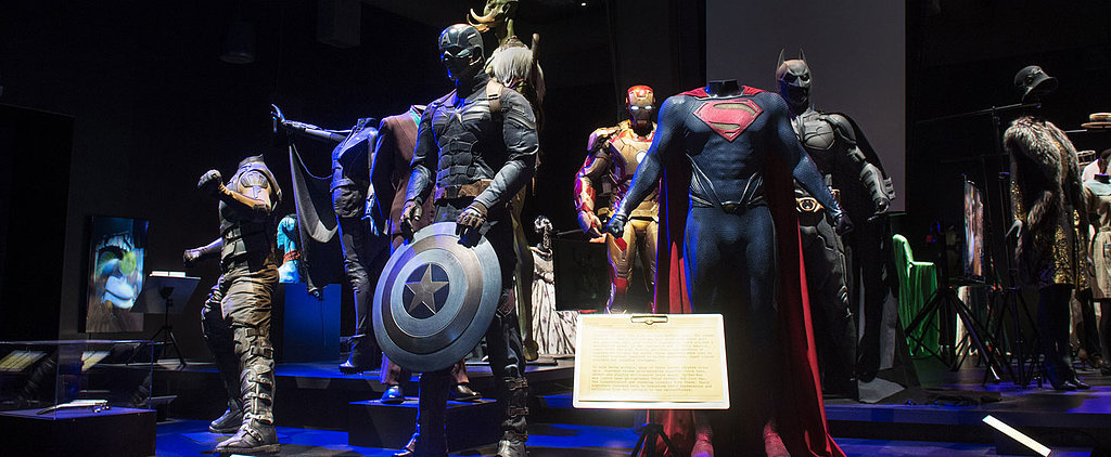 See Superman, Batman, & More Iconic Movie Costumes up Close!