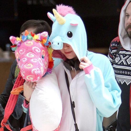 Miley Cyrus Gets a Head Start on Halloween