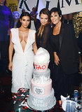 Kim Kardashian Is Showstopper In Plunging Dress at Las Vegas 34th Birthday Bash: Pictures