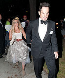Hilary Duff Holds Hands With Estranged Husband Mike Comrie at Halloween Party: Picture