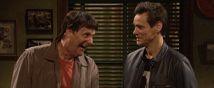 Jeff Daniels Plays Jim Carrey's Dumb and Dumber Character in Their SNL Reunion
