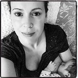 Celebrity Moms' Breastfeeding Photos
