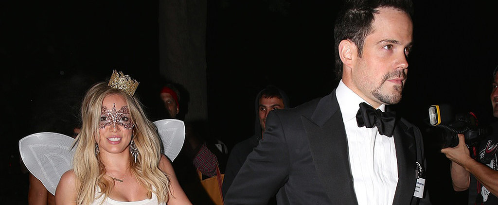 Hilary Duff and Mike Comrie Keep Everyone Guessing With Halloween PDA