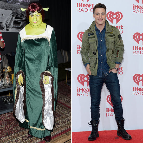 Colton Haynes Fiona From Shrek Halloween Costume
