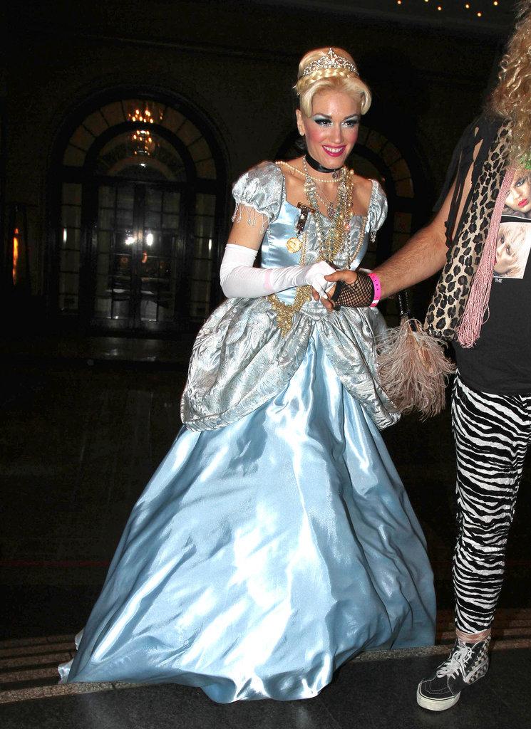 Gwen Stefani As Cinderella 23 Stars Who Skipped Sexy
