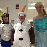 Boston Bruins Dressed Up as Frozen Characters | Video