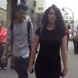 Woman Harassed 100 Times Walking Down the Street | Video
