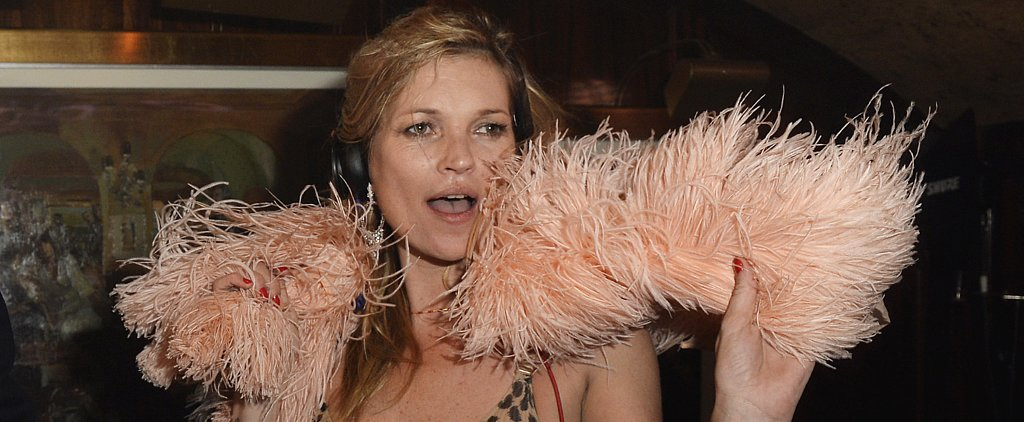 Kate Moss's Outfit Is Enough to Get the Party Started