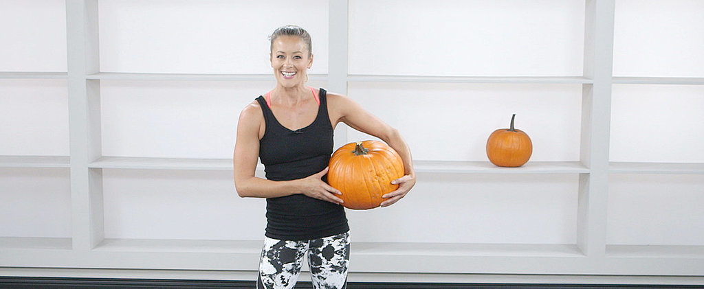 Carve Some Muscles Before Carving Your Jack-o'-Lantern: Pumpkin Workout