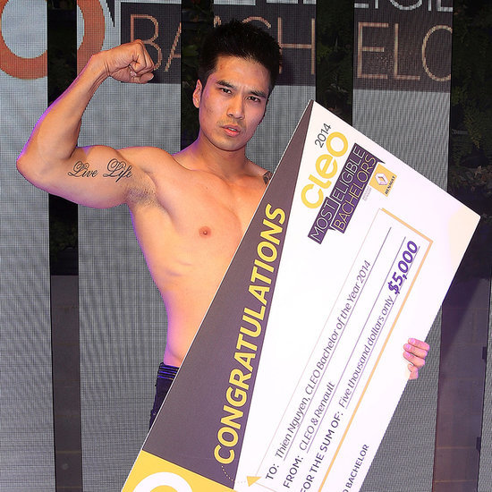 2014 Cleo Bachelor of the Year Winner and Party Pictures