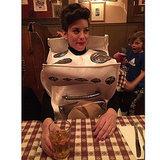 "Liv Tyler's ""Bun in the Oven"" Halloween Costume"