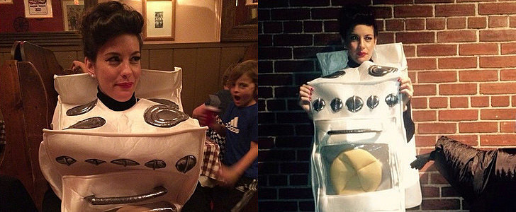 Liv Tyler's Pregnant Halloween Costume Is Pretty Much Genius
