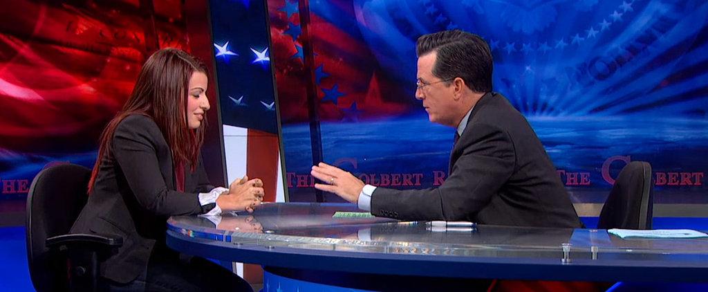 Stephen Colbert On GamerGate: Why Are Women Being Threatened?