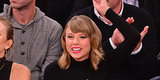 Here Are Photos Of Taylor Swift Enjoying A Beer At A New York Knicks Game