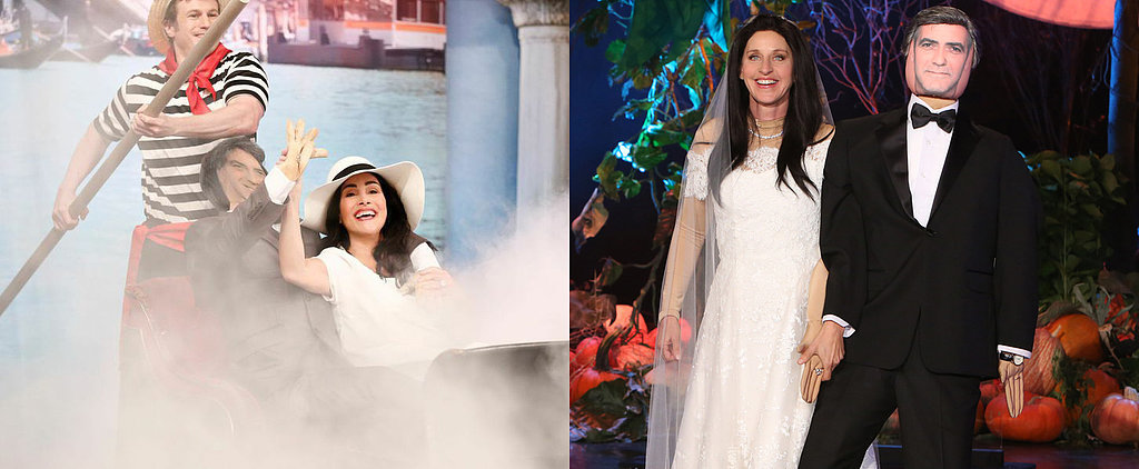 Who Channeled Amal Alamuddin Best — Ellen DeGeneres or Meredith Vieira?