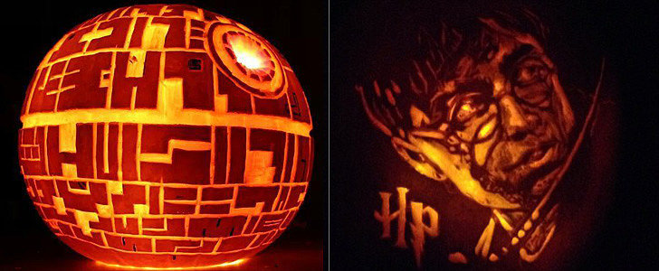 Spotted! The Geekiest Pumpkins Online