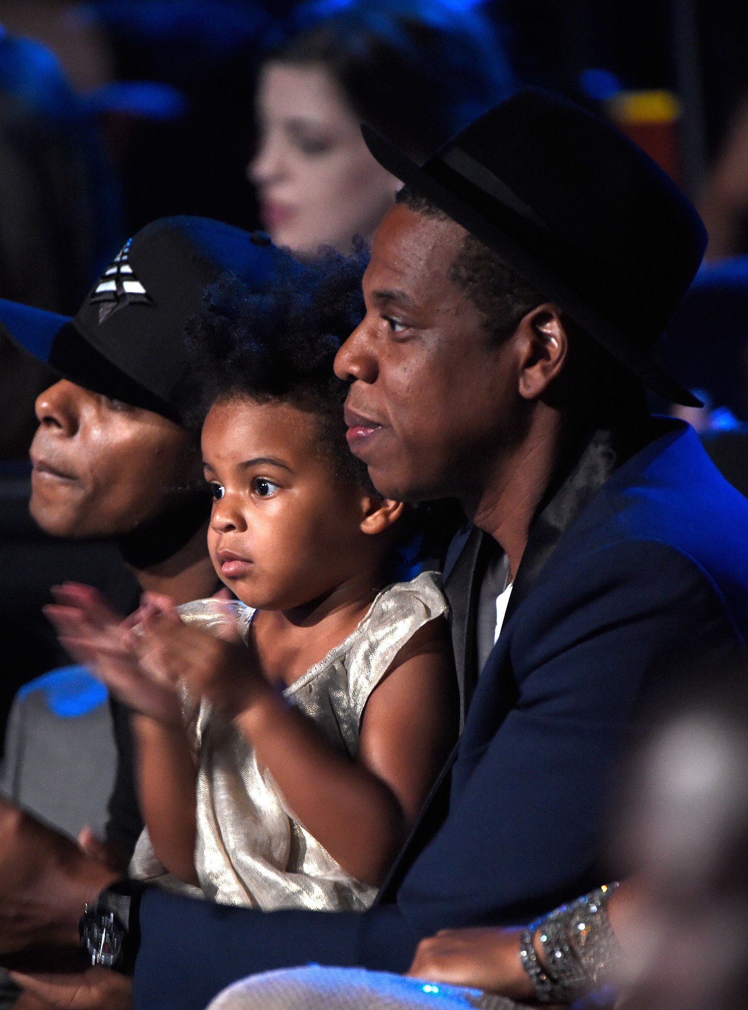Jay Z and Blue Ivy | Double Take! Meet Hollywood's Mini ...