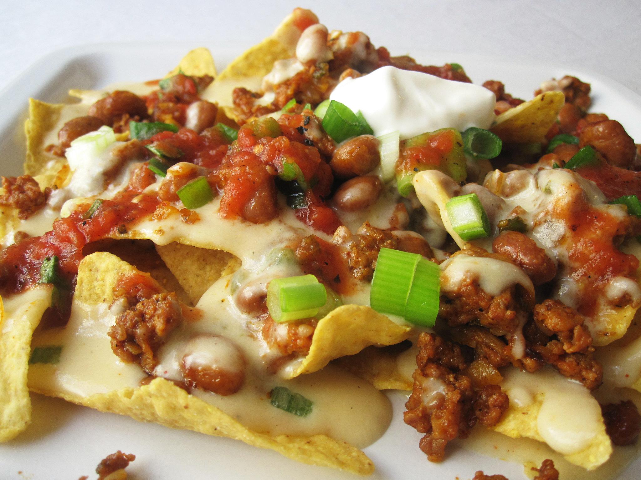 beans chorizo beef nachos recipe nachos bean and cheese nachos bean ...