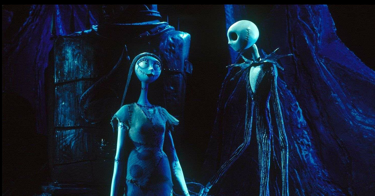 Jack and Sally, The Nightmare Before Christmas | 40 Love ...