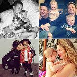 23 Stars Who Share Sweet Family Snaps on Instagram