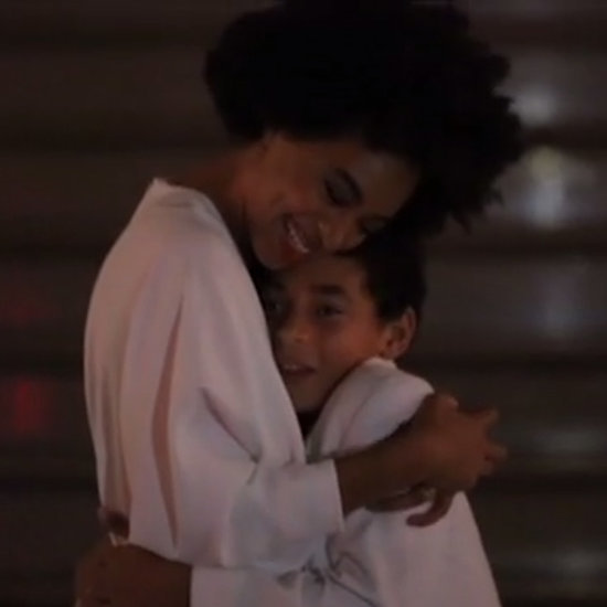 Solange Knowles and Her Son Dancing to No Flex Zone