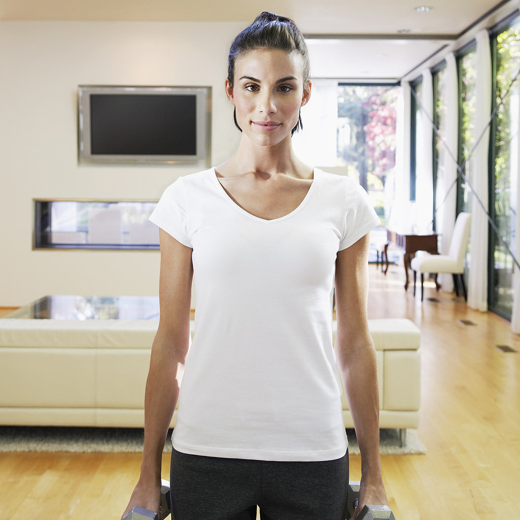 Zumba crossfit barre and more short home workouts for Living room zumba