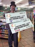 Three-Time Cancer Survivor Buys Lucky Lottery Tickets - and Wins Over $1 Million