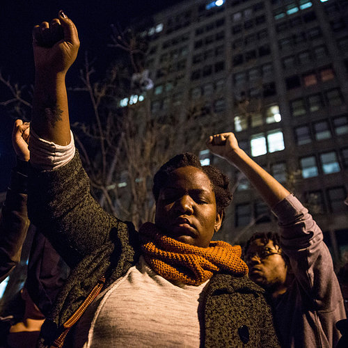 21 Powerful Photos of Peaceful Ferguson Protests Across America