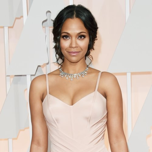 Zoe Saldana at the Oscars 2015 Pictures