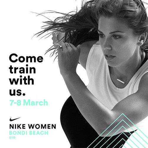 Nike Women Training Weekend At Bondi Beach Sydney