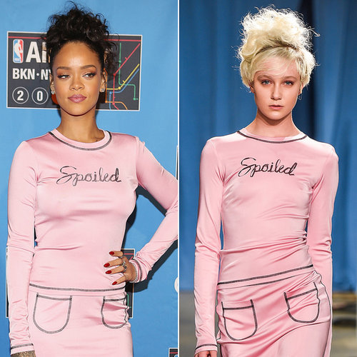 Celebrities Wearing Fall 2015 Clothes