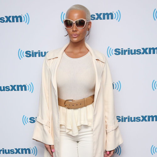 Amber Rose Goes Basically Nude on the Beach