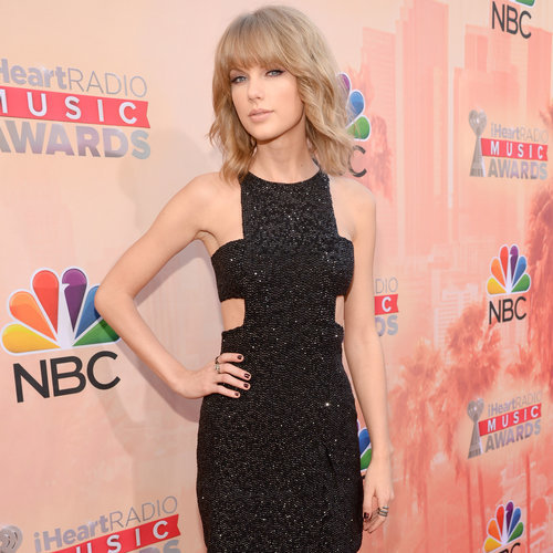 Celebrities on Red Carpet at iHeartRadio Music Awards 2015