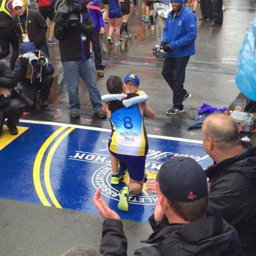 Man Proposes at Boston Marathon Finish Line