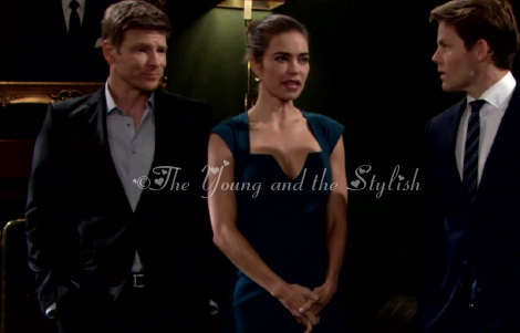 victoria newman teal dress the young and the restless