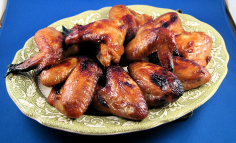 Super easy Oriental style chicken wings